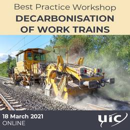 2021-03-18 18:00:00: Decarbonisation of Work trains