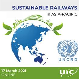 2021-03-17 19:00:00: Sustainable Railways in Asia-Pacific